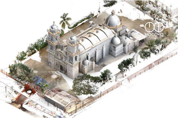 modelo3d-capilla-levantamientotopografico-bim